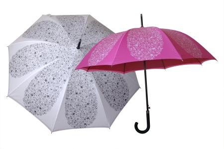 Um... floral umbrella